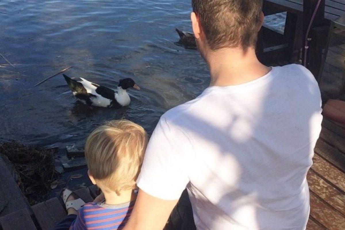 Michel Bublé y su hijo Noah Foto:Instagram/michaelbuble. Imagen Por: