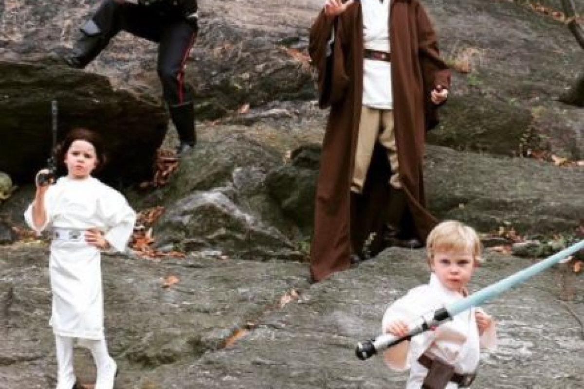 """El comediante convirtió a toda su familia en personajes de """"Star Wars"""" Foto:vía instagram.com/nph. Imagen Por:"""