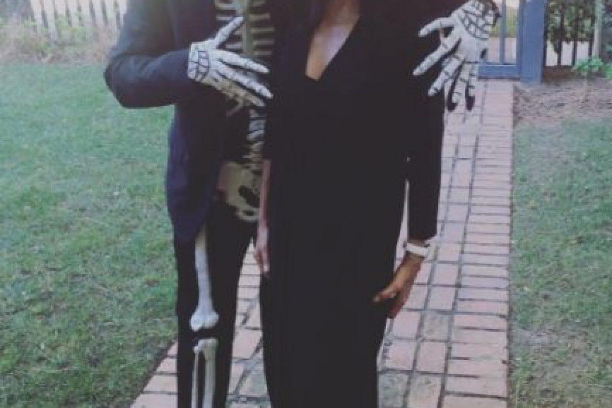 """La actriz de """"Rápido y Furioso"""" se convirtió en una viuda negra. Foto:vía instagram.com/jordanabrewster. Imagen Por:"""