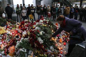 En San Petersburgo, se rindió homenaje a las víctimas Foto:Getty Images. Imagen Por: