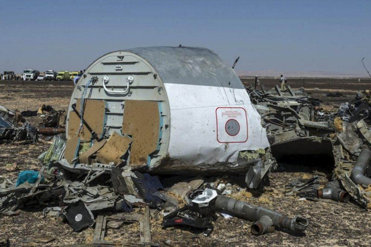 Su número de vuelo era KGL 9268 de la aerolínea Kogalymavia Foto:AFP. Imagen Por: