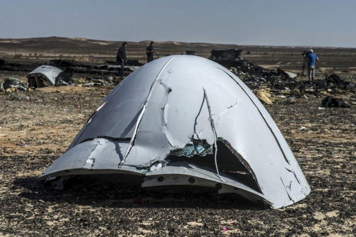 Aunque integrantes del grupo Estado Islámico se atribuyeron su derribo Foto: AFP. Imagen Por: