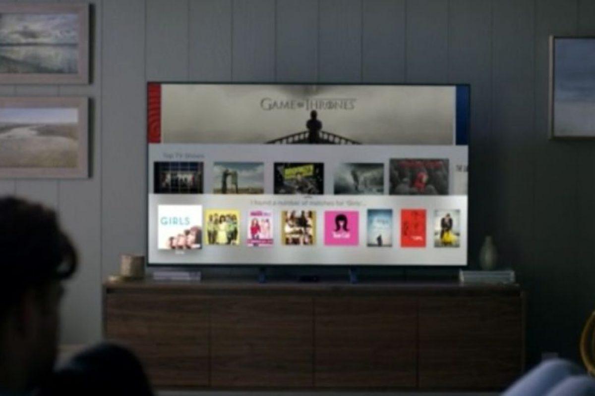 Así se verá en sus televisores. Foto:Apple. Imagen Por: