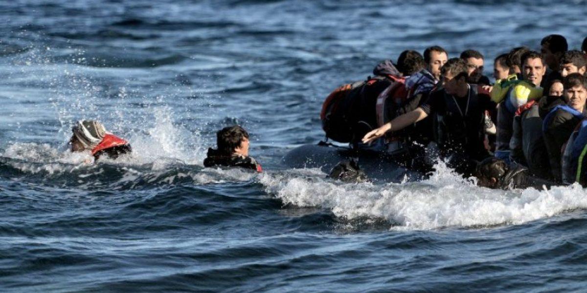 Un récord de 218.000 migrantes cruzaron el Mediterráneo en octubre