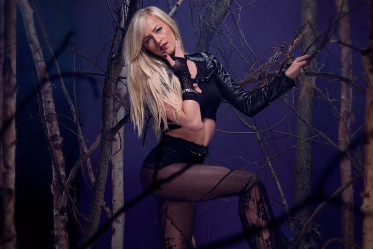 """Summer Rae como """"Undertaker"""" Foto:WWE. Imagen Por:"""