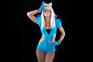 Michelle McCool como Lady Gaga. Foto:WWE. Imagen Por: