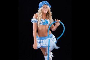 """Kelly Kelly como """"Little Bo Peep"""". Foto:WWE. Imagen Por:"""