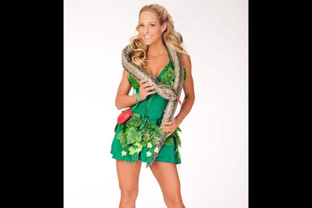 """Michelle McCool como """"Eva"""". Foto:WWE. Imagen Por:"""
