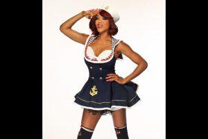 Alicia Fox como marinera. Foto:WWE. Imagen Por: