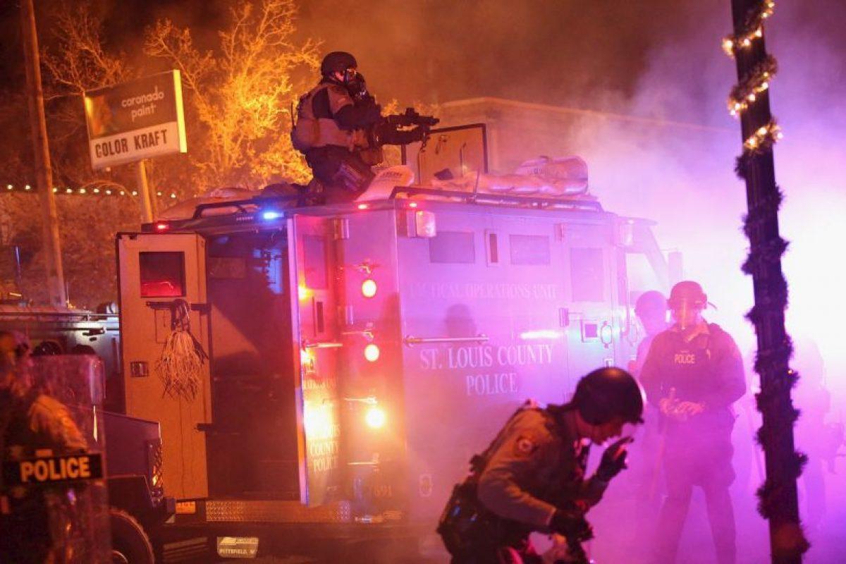 3. Posteriormente se determinó que el joven de 18 años estaba desarmado. Foto:Getty Images. Imagen Por: