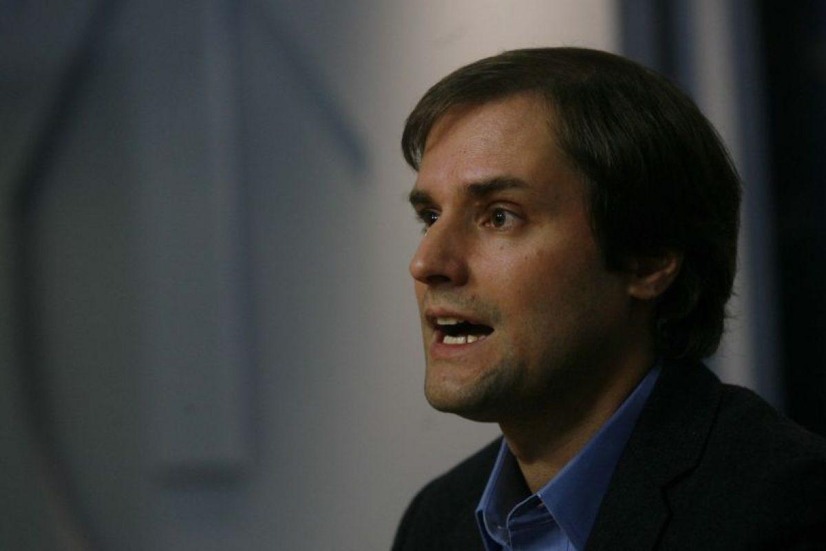 Jaime Bellolio, Diputado UDI. Presidente Feuc 2003 Foto:Agencia Uno. Imagen Por: