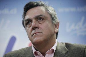 Pablo Longueira, ex Senador UDI. Presidente Fecech (U.Chile) dictadura Foto:Agencia Uno. Imagen Por: