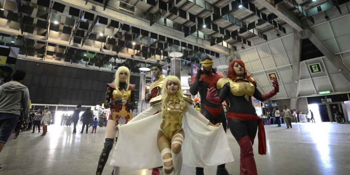 Capitán Memo y cosplay al por mayor marcan cierre de la Comic Con Chile 2S