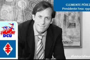 Clemente Pérez, DC ex Diputado. Presidente Feuc 1991 Foto:Reproducción. Imagen Por: