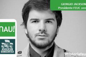 Giorgio Jackson, Diputado independiente. Presidente Feuc 2011 Foto:Reproducción. Imagen Por: