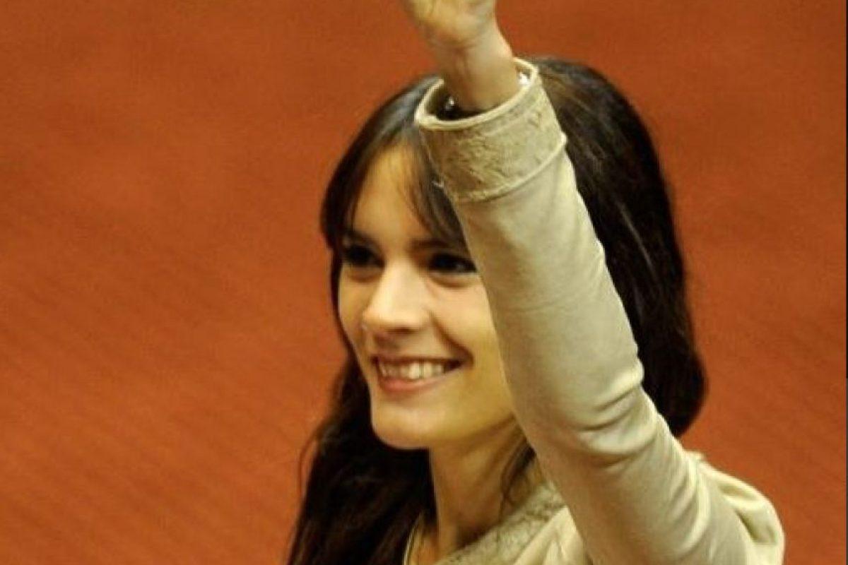 Camila Vallejo, Diputada PC. Presidenta Fech 2011 Foto:Reproducción. Imagen Por: