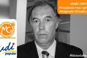 Jaime Orpis, Senador UDI. Presidente Feuc 1983 Foto:Reproducción. Imagen Por: