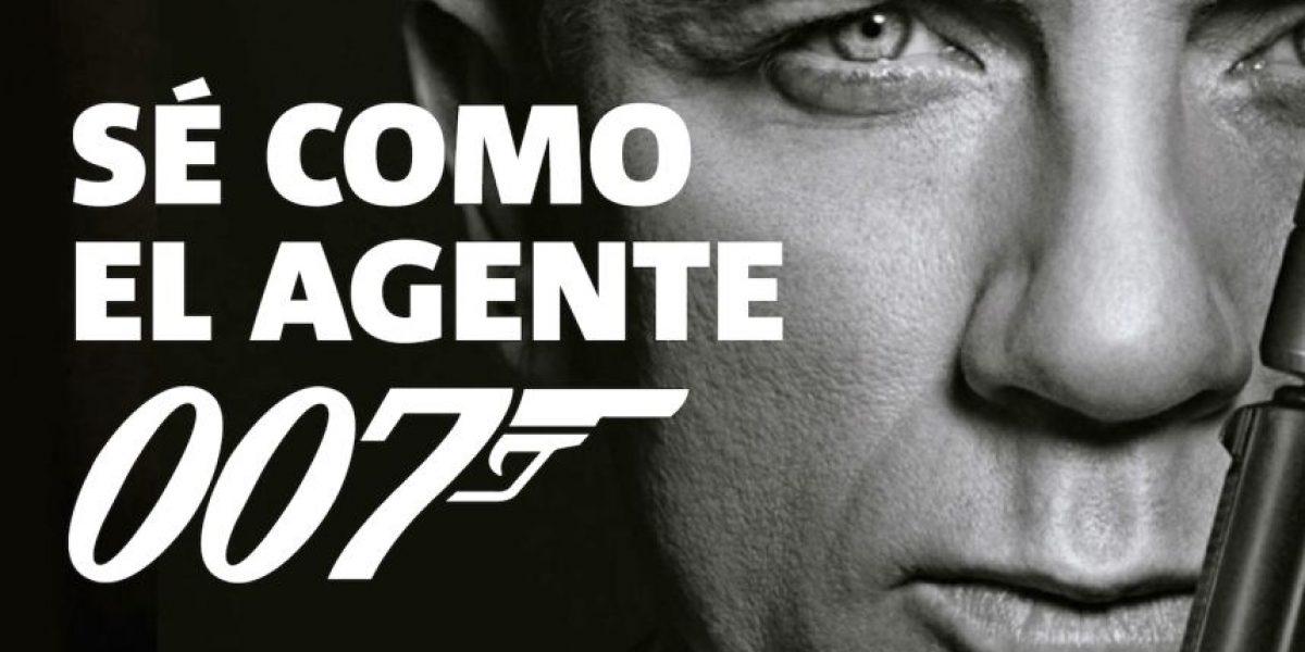 Infografía: Sé como el agente 007