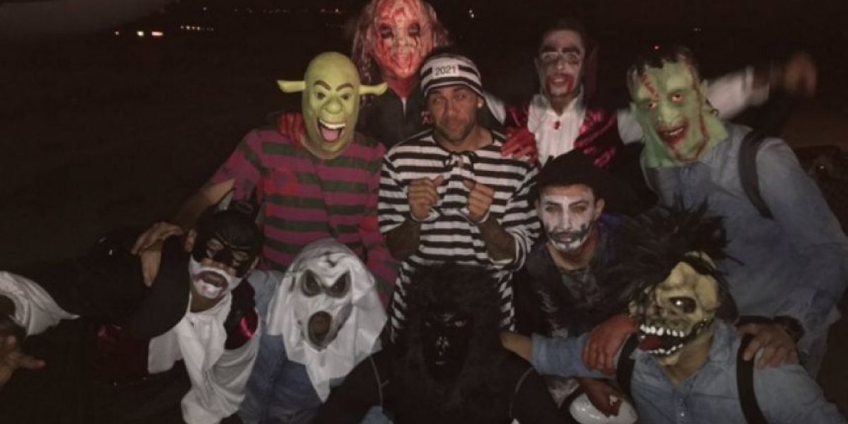 Fotos: Los disfraces de Halloween del Barcelona que causaron polémica