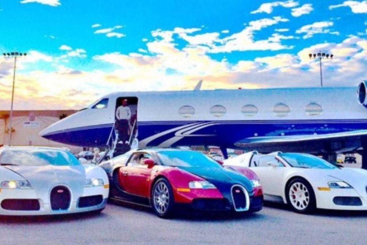 También es dueño de un jet privado. Foto:instagram.com/FloydMayweather. Imagen Por: