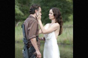"""Madre de """"Carl"""" y esposa de """"Rick"""", comenzó una relación con """"Shane"""", excompañero de """"Rick"""" en los cuerpos policiales al creer que su esposo había fallecido Foto:AMC. Imagen Por:"""