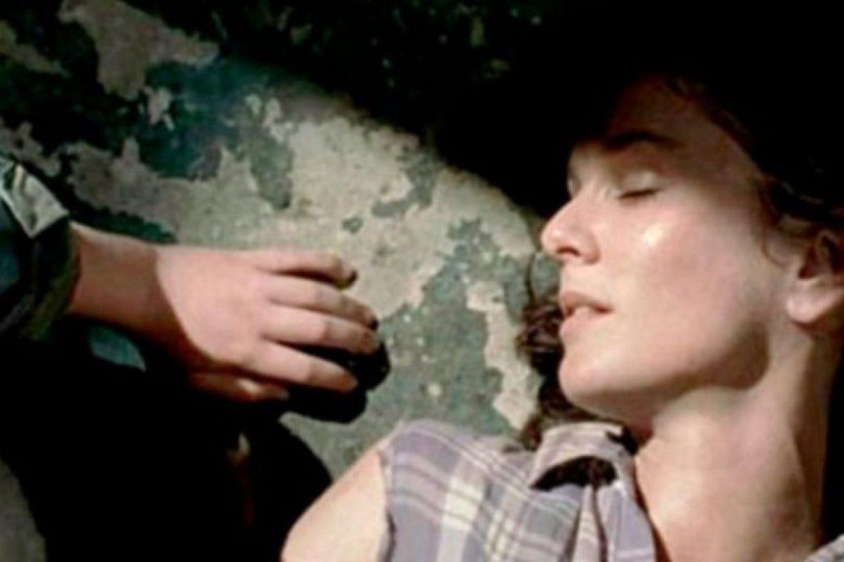 """Murió cuando dio a luz a su hija menor """"Judith"""", """"Carl"""" fue el encargado de disparar en su cabeza Foto:AMC. Imagen Por:"""