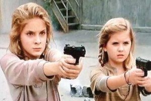 """Las hermanas huérfanas que durante la cuarta temporada quedan al cuidado momentáneo de """"Tyreese"""" y """"Carol"""" Foto:AMC. Imagen Por:"""
