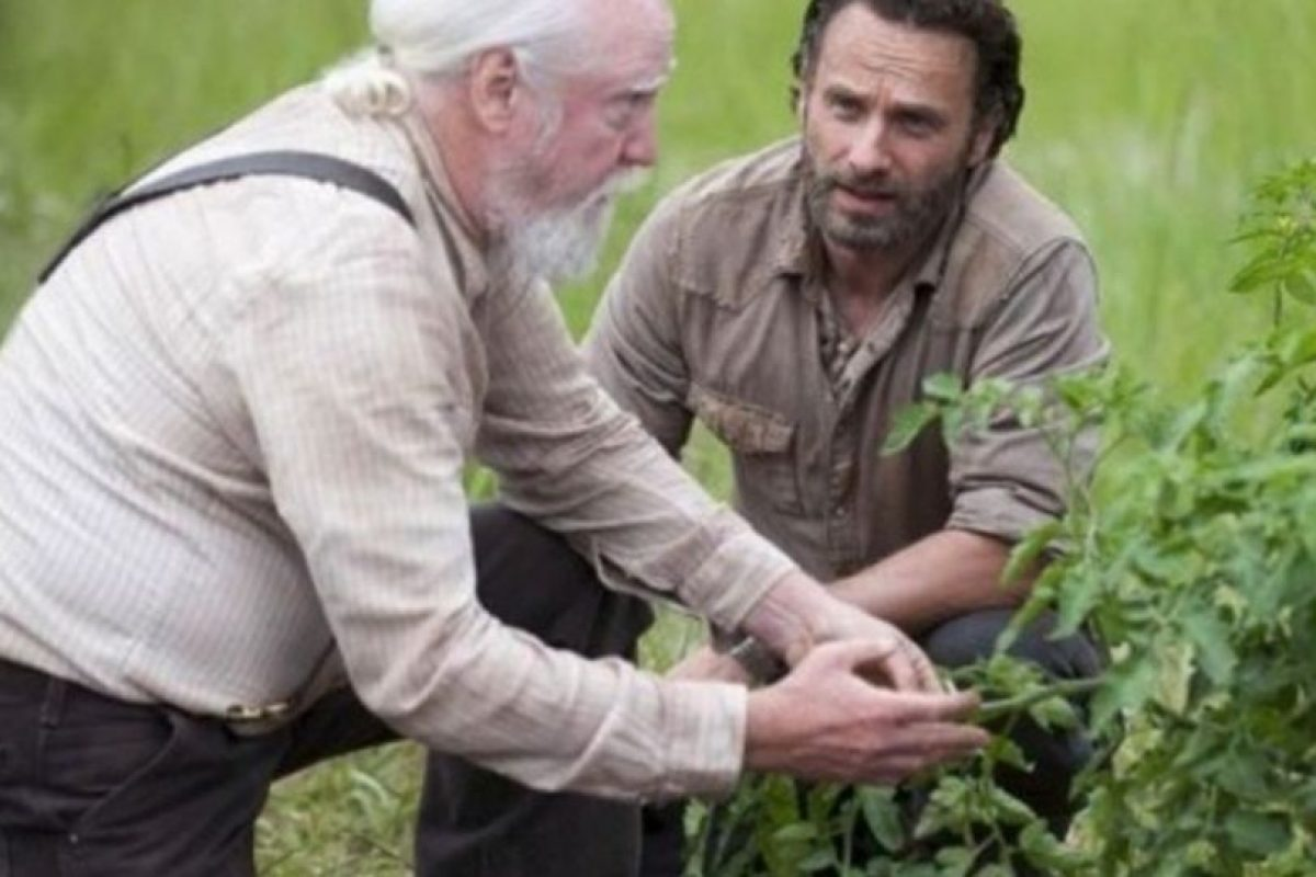 """El granjero y médico veterinario, padre de """"Maggie"""" y """"Beth"""", se distinguió por su sabiduría y tener gran interés en conservar la moral y ética en el grupo Foto:AMC. Imagen Por:"""