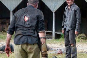"""""""Daryl"""" lo elimina cuando ya es un zombi Foto:AMC. Imagen Por:"""