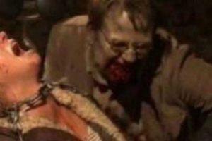 """""""El Gobernador"""" encerró a """"Andrea"""" junto a un moribundo """"Milton"""" que acabaría convertido en caminante y mordiéndola Foto:AMC. Imagen Por:"""