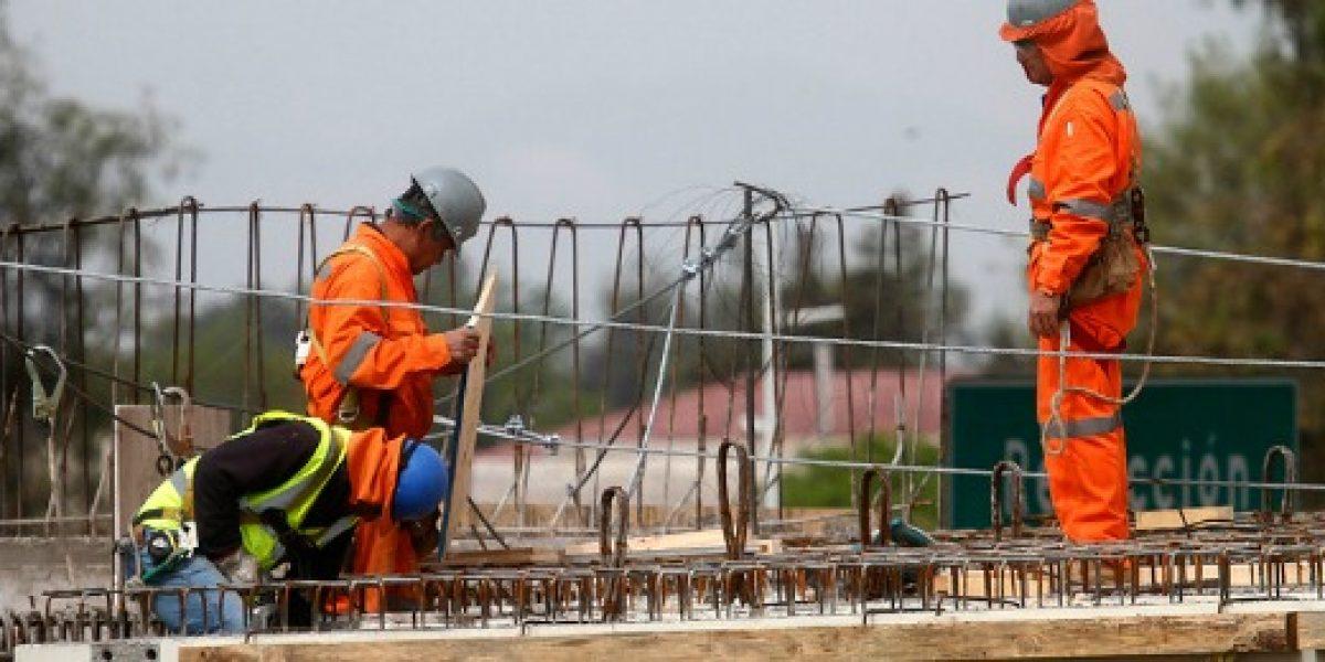 Actividad de la construcción crece 2,7% en agosto