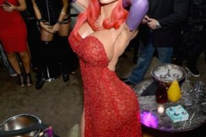 "Heidi Klum se transformó en ""Jessica Rabbit"" Foto: Getty Images. Imagen Por:"
