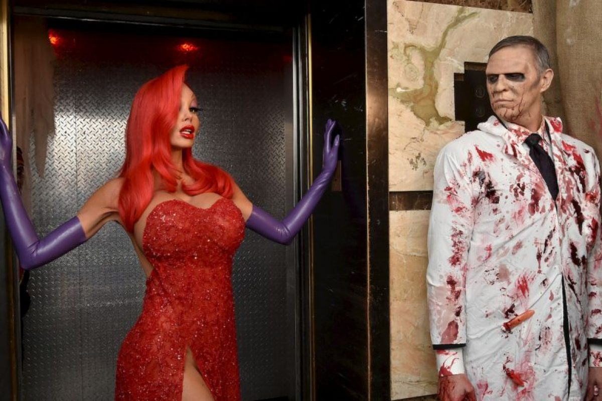 """Jessica Rabbit"" de la película ""¿Quién engañó a Roger Rabbit?"" Foto:Getty Images. Imagen Por:"