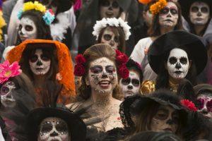 Día de muertos en México Foto:AP. Imagen Por: