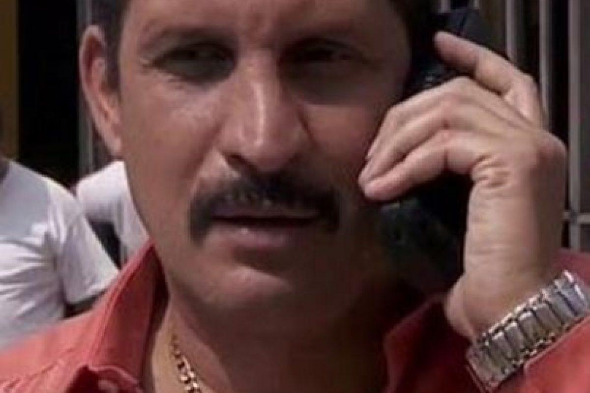 Óscar Cadena era José Orlando Henao Montoya, papel que realizó Fernando Solórzano Foto:Telemundo. Imagen Por:
