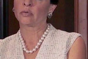 Marta María Sahagún Jiménez era Mirta 'Mirtita' Saavedra, y quien diera vida a ese personaje fue Verónica Falcón Foto:Telemundo. Imagen Por: