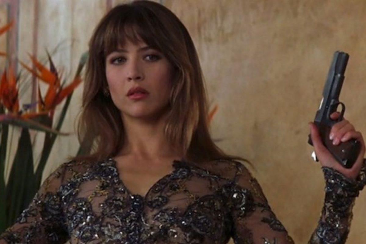 """Sophie Merceau fue escogida también como chica Bond para """"The World is not enough"""". Tuvo un romance con 007 (Brosnan), pero resultó ser una 'femme fatale' y el agente secreto termina asesinándola. Foto:Vía imdb.com. Imagen Por:"""