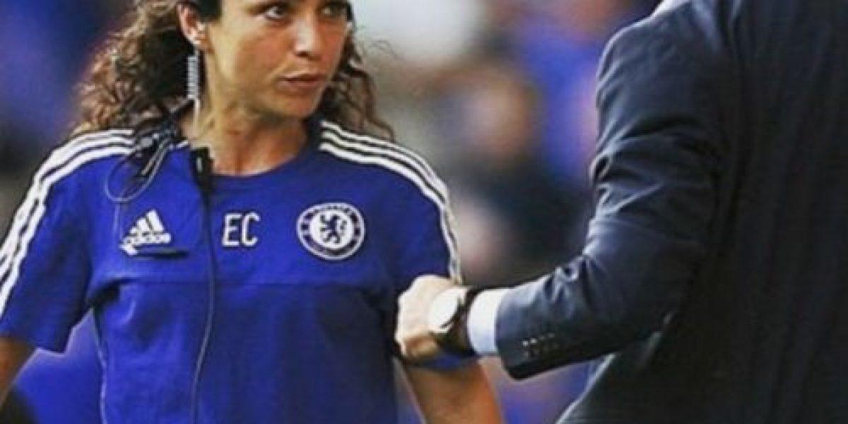 Reaparece la guapa exdoctora del Chelsea tras su incidente con José Mourinho