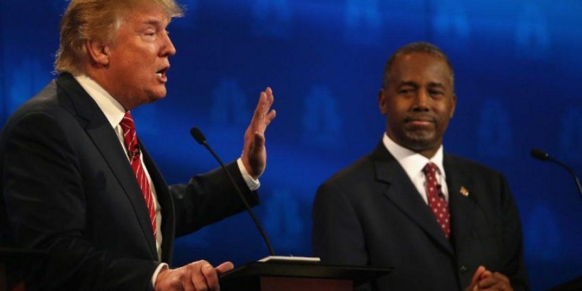 Ben Carson le lleva la delantera a Donald Trump a nivel nacional