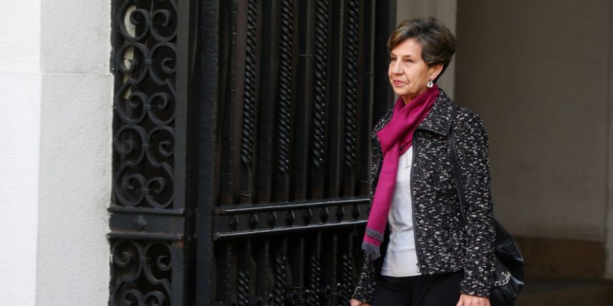 Presidenta del PS y colusión: