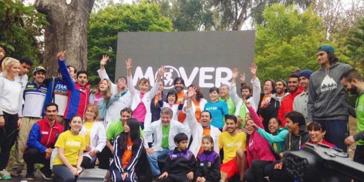 Presentan 2º fase de campaña que busca frenar 83% de sedentarismo en Chile
