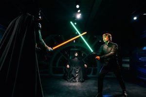 EXPOSICIÓN DE STAR WARS EN EL MUSEO MADAME TUSSAUDS: A partir de mayo 2015, los museos Madame Tussauds de Londres y Berlín tendrán todas las nuevas figuras de cera exclusivas de Star Wars. Foto:goeuro.es. Imagen Por: