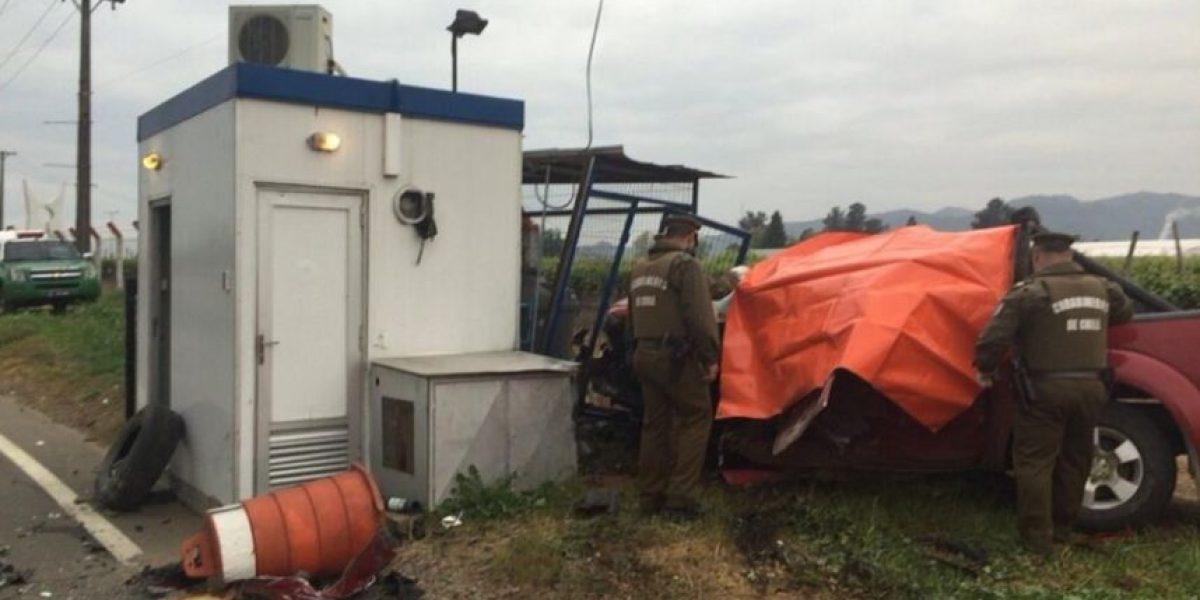 Molina: violento choque deja un muerto y dos heridos en Ruta 5 Sur