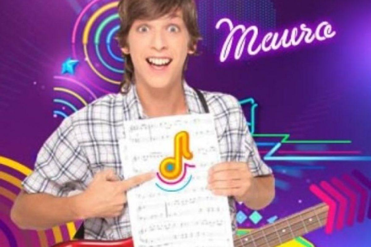 """El actor interpretó a """"Mauro"""", el amigo timido de """"Luca"""" y bajista de la banda """"Control Remoto"""". Foto:Nickelodeon. Imagen Por:"""