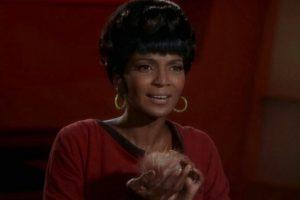 """Interpretó a la teniente """"Uhura"""". Foto:George Takei. Imagen Por:"""