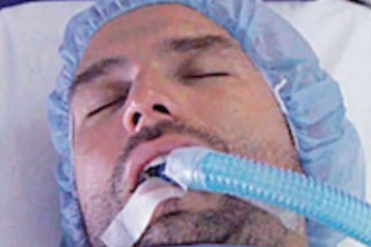 El pasado 27 de octubre el actor mexicano fue internado por una supuesta sobredosis de droga Foto:Telemundo. Imagen Por: