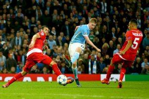 En otro duelo de locura, Manchester City paga la visita al Sevilla Foto:Getty Images. Imagen Por: