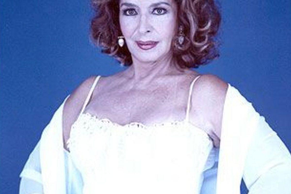 """Elsa Aguirre interpretó a """"Cecilia Onderain Martínez"""". Luego de la telenovela ganó un premio Ariel, en 2003 y hasta 2008 hizo teatro. Luego se retiró. Foto:vía Televisa. Imagen Por:"""