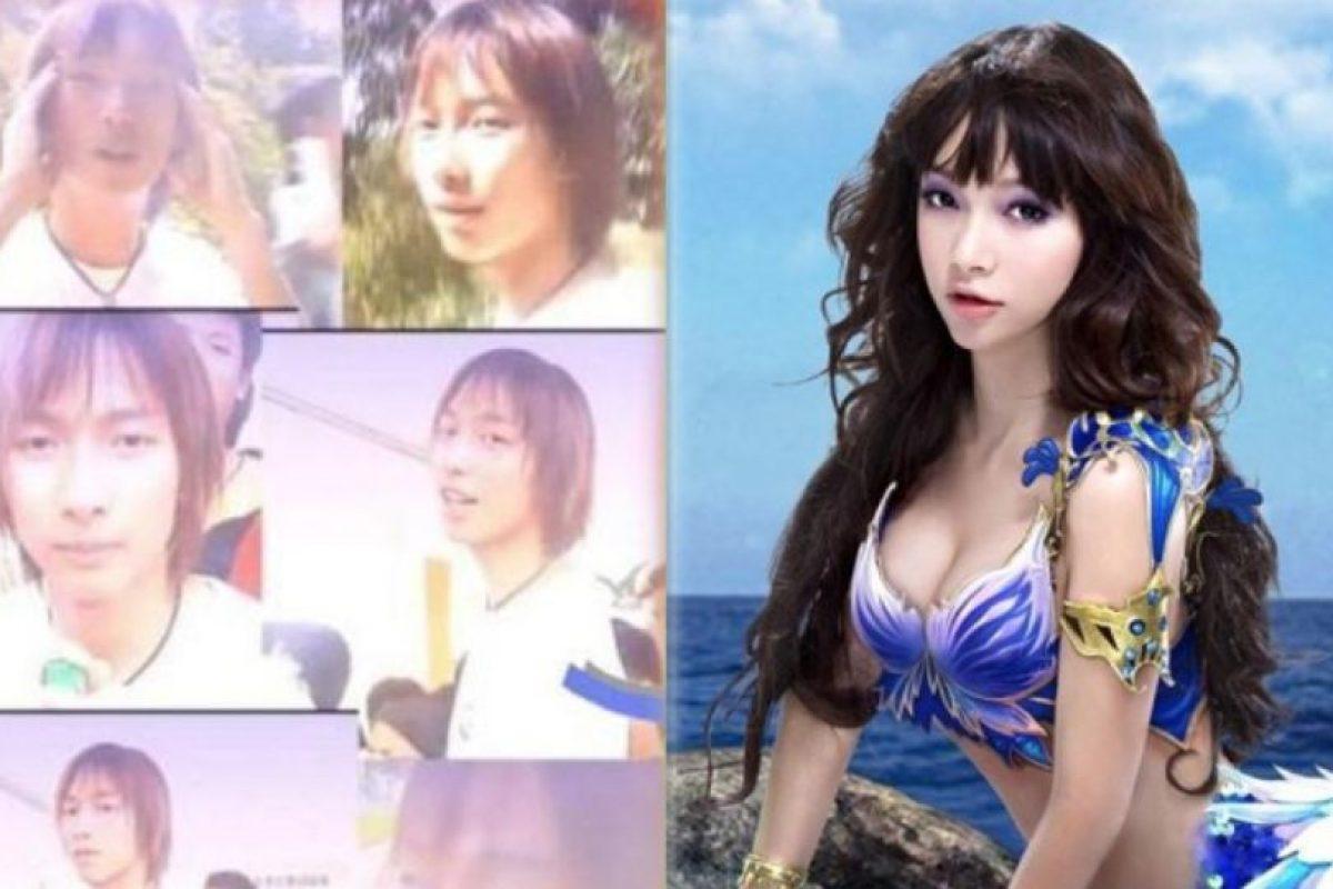 6. Liu Shihan es una transexual China. Actualmente es bailarina de pole dance profesional. Foto:Weibo. Imagen Por: