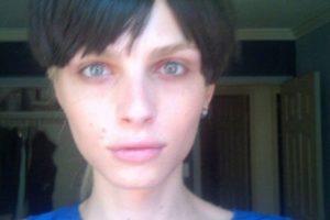 9. Así lucía el modelo Andrej Pejic antes de su transformación. Foto:Vía Twitter. Imagen Por: